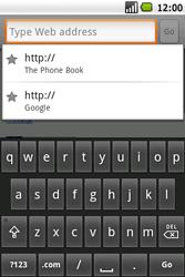 Samsung I5700 Galaxy Spica - Internet - Internet browsing - Step 14