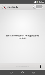 Sony Xperia E1 (D2005) - Bluetooth - Aanzetten - Stap 4