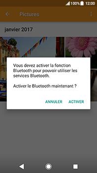 Sony Xperia XA2 Ultra - Photos, vidéos, musique - Envoyer une photo via Bluetooth - Étape 13