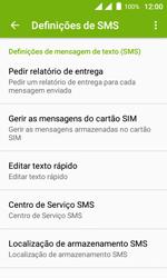 Wiko Sunny DS - SMS - Como configurar o centro de mensagens -  7