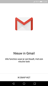 Huawei P10 Plus - E-mail - handmatig instellen (gmail) - Stap 4