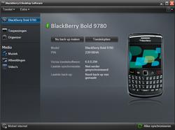 BlackBerry 9780 Bold - Software - installeer firmware update - Stap 17