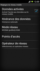 Sony ST26i Xperia J - Internet - configuration manuelle - Étape 9