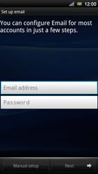 Sony Xperia Neo V - E-mail - Manual configuration - Step 5