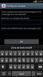 Samsung I9300 Galaxy S III - E-mail - Configuration manuelle - Étape 15