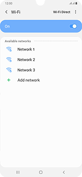 Samsung Galaxy A50 - Wi-Fi - Connect to Wi-Fi network - Step 7