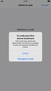 Apple iPhone 8 Plus - iOS 13 - Sécurité - activéz le code PIN de l'appareil - Étape 6