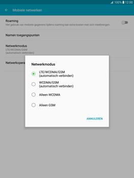 Samsung T815 Galaxy Tab S2 9.7 - Netwerk - Wijzig netwerkmodus - Stap 6