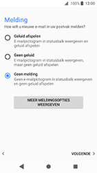 Sony Xperia XA2 (H3113) - E-mail - Account instellen (POP3 met SMTP-verificatie) - Stap 21