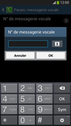 Samsung G386F Galaxy Core LTE - Messagerie vocale - configuration manuelle - Étape 9