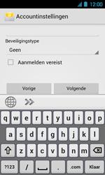 Acer Liquid Glow E330 - E-mail - Handmatig instellen - Stap 12