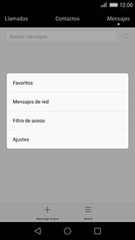 Huawei GX8 - Mensajería - Configurar el equipo para mensajes de texto - Paso 4