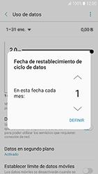 Samsung Galaxy A3 (2017) (A320) - Internet - Ver uso de datos - Paso 8