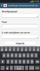 Samsung I9195 Galaxy S IV Mini LTE - E-mail - Handmatig instellen - Stap 10