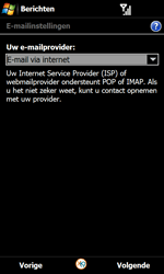Samsung I8000 Omnia II - E-mail - Handmatig instellen - Stap 9