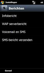 Samsung I8000 Omnia II - SMS - handmatig instellen - Stap 6