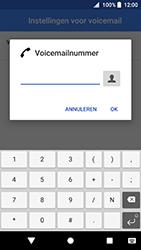 Sony Xperia XZ Premium - Android Oreo - Voicemail - handmatig instellen - Stap 11