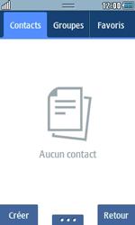 Samsung Wave 723 - Contact, Appels, SMS/MMS - Ajouter un contact - Étape 3