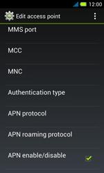 Acer Liquid Z4 - Mms - Manual configuration - Step 13