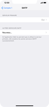 Apple iPhone XS Max - E-mail - Configurer l
