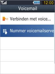 Samsung B3410 Star Qwerty - Voicemail - handmatig instellen - Stap 8