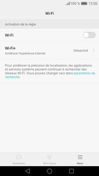 Huawei P9 Plus - Wifi - configuration manuelle - Étape 4