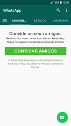 Samsung Galaxy S7 - Android Nougat - Aplicações - Como configurar o WhatsApp -  16