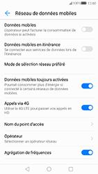 Huawei P10 - Internet et connexion - Désactiver la connexion Internet - Étape 6