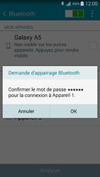 Samsung A500FU Galaxy A5 - WiFi et Bluetooth - Jumeler votre téléphone avec un accessoire bluetooth - Étape 7
