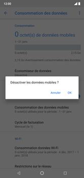 Nokia 7.1 - Internet et connexion - Désactiver la connexion Internet - Étape 7