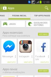 Samsung S6293T Galaxy Young Plus - Aplicativos - Como baixar aplicativos - Etapa 5