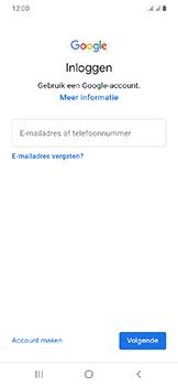 Samsung galaxy-a20e-dual-sim-sm-a202f - Applicaties - Account aanmaken - Stap 5