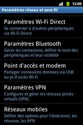 Samsung S5690 Galaxy Xcover - Réseau - Utilisation à l