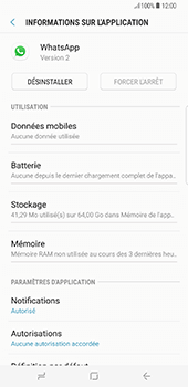 Samsung Galaxy S8+ - Applications - Supprimer une application - Étape 6