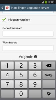 Samsung N9005 Galaxy Note III LTE - E-mail - Handmatig instellen - Stap 13