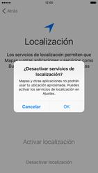 Apple iPhone 6s iOS 9 - Primeros pasos - Activar el equipo - Paso 11