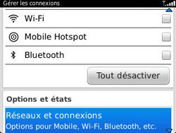 BlackBerry 9320 - Aller plus loin - Désactiver les données à l'étranger - Étape 4