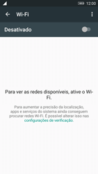 Lenovo Vibe K6 - Wi-Fi - Como configurar uma rede wi fi - Etapa 5