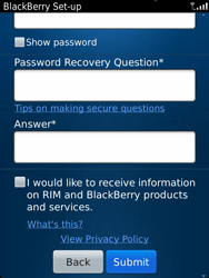 BlackBerry 9810 Torch - BlackBerry activation - BlackBerry ID activation - Step 10