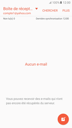 Samsung Samsung G920 Galaxy S6 (Android M) - E-mail - Configuration manuelle (yahoo) - Étape 4