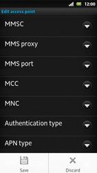 Sony MT27i Xperia Sola - MMS - Manual configuration - Step 14