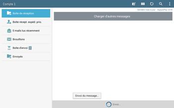 Samsung T535 Galaxy Tab 4 10-1 - E-mail - Envoi d