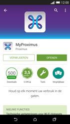 HTC One M8 - Applicaties - MyProximus - Stap 10