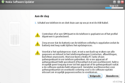 Nokia E65 - Software - Update installeren via PC - Stap 15