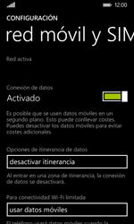 Nokia Lumia 635 - Internet - Configurar Internet - Paso 5