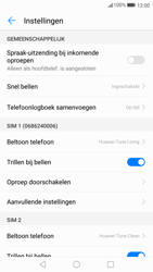 Huawei P10 Lite - Voicemail - Handmatig instellen - Stap 5