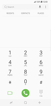Samsung Galaxy S8 - Voicemail - Manual configuration - Step 4