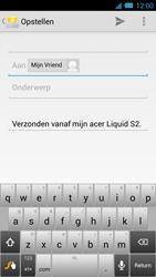 Acer Liquid S2 - E-mail - Hoe te versturen - Stap 7