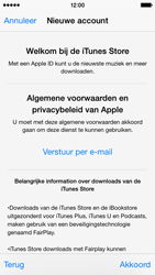 Apple iPhone 5 iOS 8 - Applicaties - Account aanmaken - Stap 11