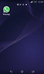 Sony Xperia E1 - Aplicações - Como configurar o WhatsApp -  4